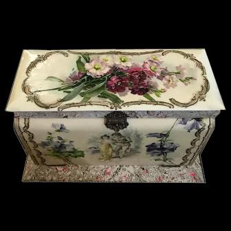 Late Victorian Dresser Comdendium Set - French Papier Mache