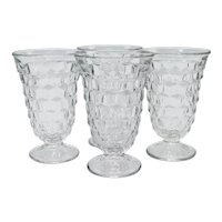 Fostoria American Pattern Iced Tea/Water Glasses-set of 4