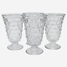 Fostoria American Pattern Iced Tea/Water Glasses-set of 4