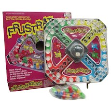 Game of Frustration. Vintage Family Game from Irwin with PopOMatic