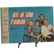1972 All in the Family Game by Milton Bradley.  Archie and Edith Bunker.
