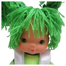 "16"" Patty O'Green Doll from Rainbow Brite.  New Old Stock with Tag"