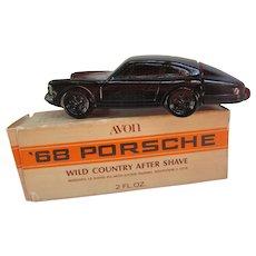 Avon '68 Porsche with 2 Fl. Oz Wild Country After Shave. In Original Box