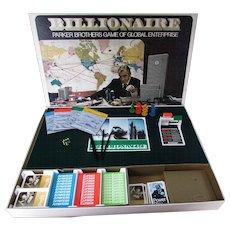 Billionaire Parker Brothers Game of Global Enterprise.