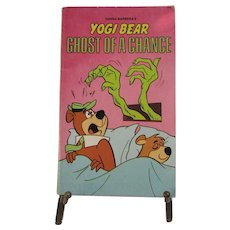 1978 Yogi Bear Softcover Book. Ghost of a Chance. Hanna-Barbera.