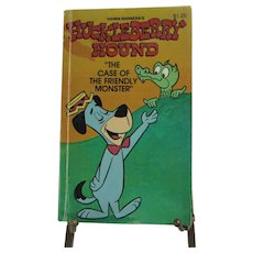 1978 Huckleberry Hound Softcover Book. The Case of the Friendly Monster. Hanna-Barbera.