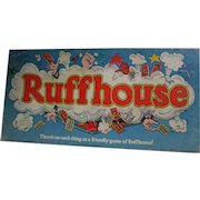 RUFFHOUSE Board Game. 1980. FUN Family Game. Rough House.