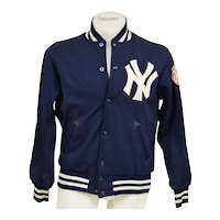 Circa 1970's New York Yankees Game Worn Dugout Jacket