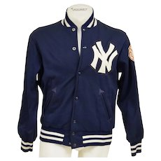 Circa 1970's New York Yankees Game Worn Dugout Jacket