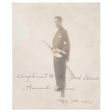 1917 Samurai Signed Photograph
