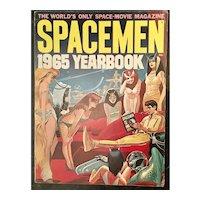 1965 Spacemen Yearbook - Warren Publications Buck Rogers - Ex