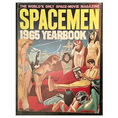 1965 Spacemen Yearbook - Warren Publications Buck Rogers - Ex