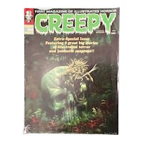 CREEPY Magazine Sept. 1970 Kenneth Smith Cover Warren Magazine