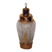 Gold Plated Shaker With Italian Crystal