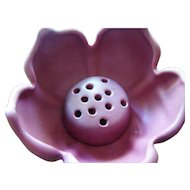 Van Briggle Lotus Flower Frog