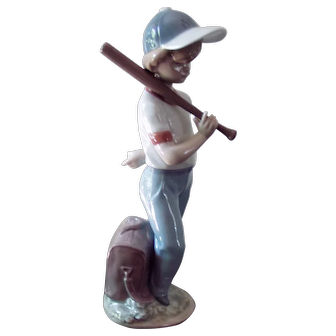 "Ladro Spanish Porcelain Figurine,  #7610, ""Can I Play"""