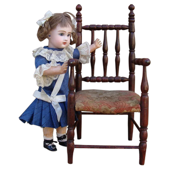 Nice antique chair for doll
