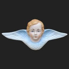 Small antique bisque angel