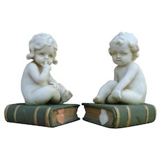 Very nice antique Mulher all bisque figurines.