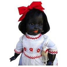 Very pretty and rare black Simon & Halbig 116/A character Bebe