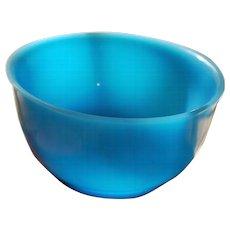 Beijing Glass Bowl, Q'ing Dynasty, Circa 1880