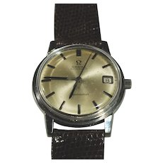 1966 Omega Stainless Seamaster Date Automatic Watch