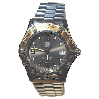 Authentic Vintage Tag Heuer Watch