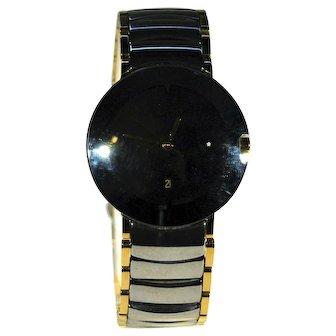 Genuine Rado Coupole Ceramique Men's Wrist Watch
