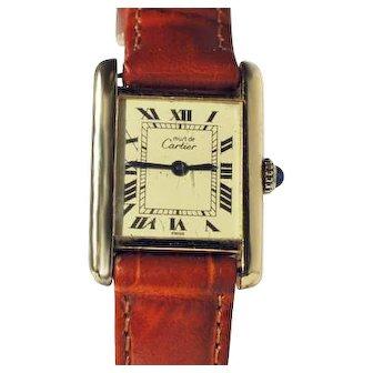 Ladies Cartier Tank Watch