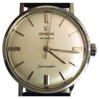 Vintage 1967 Men's Omega Seamaster Watch