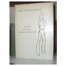 Miss Pooky Peckinpaugh by Kay Thompson 1st printing 1970 in DJ