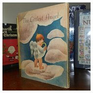 The Littlest Angel by Charles Tazewell 1946 1st  printing in DJ SWEET!