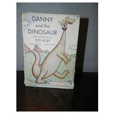 Syd Hoff's Danny and the Dinosaur  1958 1st Printing - In original DJ