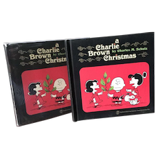 A Charlie Brown Christmas 1st printing 1965 w DJ written by Charles Schulz