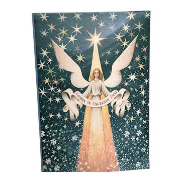 "Rare Vojtech Kubasta ""Gloria in Excelsis Deo"" Christmas Nativity Creche Pop Up"