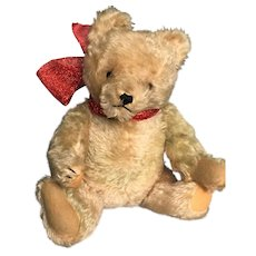 """""""Charlie"""" , 15 inch Golden Mohair  Vintage Teddy Bear 1940 - 1950 -"""