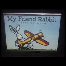 My Friend Rabbit 1st printing SIGNED Caldecott award 2003