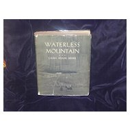 Waterless Mountain by Laura Adams Armer 1st 1931 DJ - 1932 Newbery Award winner