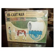 1979 Ox - Cart Man Caldecott Medal for 1980 1st printing in DJ