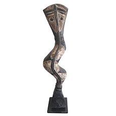 Vintage Baga Snake, Guinea