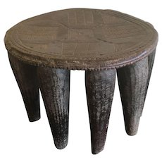 Antique Nupe Stool, Nigeria