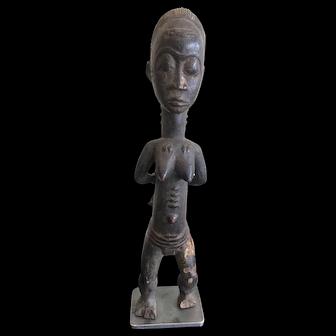 Vintage Baule Spouse Statue