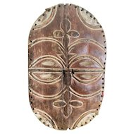 Authentic Teke Mask from the Congo
