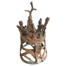 Antique Moulmein Bronze Sculpture