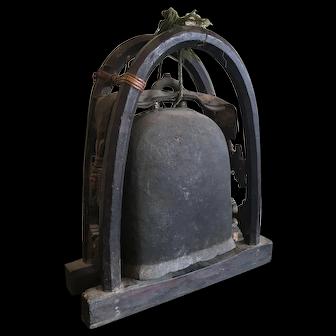 Antique 19th Century Elephant Bell, Lanna States