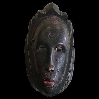 Vintage Guro Mask, Ivory Coast