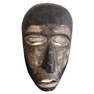 Antique Indonesian Wooden Mask, Sempu Island