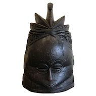Antique Mende Helmet Mask