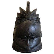 Antique Mende Helmet Mask
