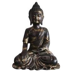 Gilt Bronze Buddha Statue, Ming Style